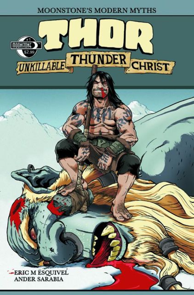 Moonstone's Modern Myths: Thor, Unkillable Thunder Christ #1