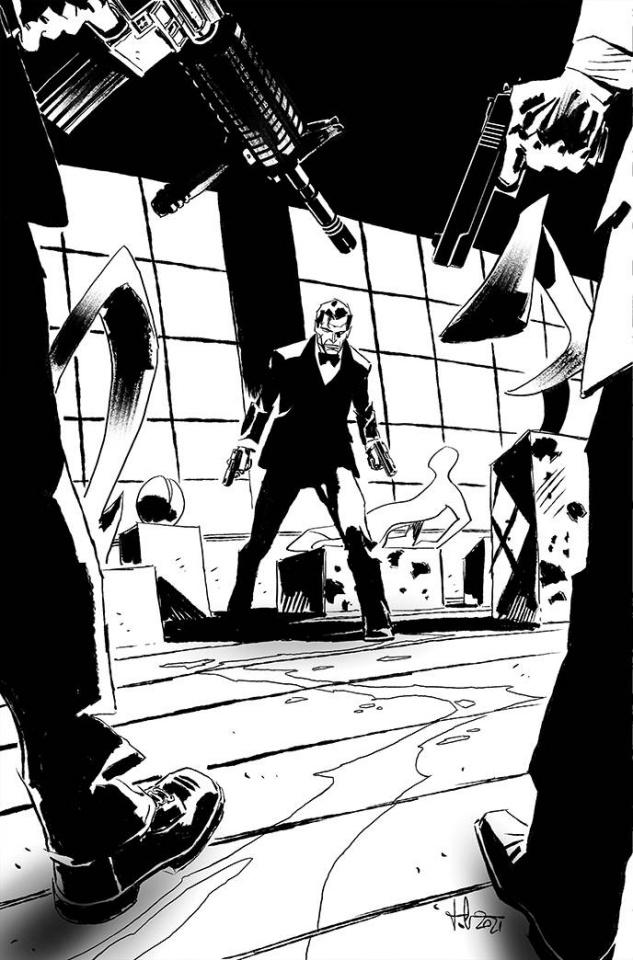 James Bond: Agent of SPECTRE #5 (25 Copy Casalanguida Cover)