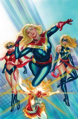Captain Marvel #1 (Ross Cover)