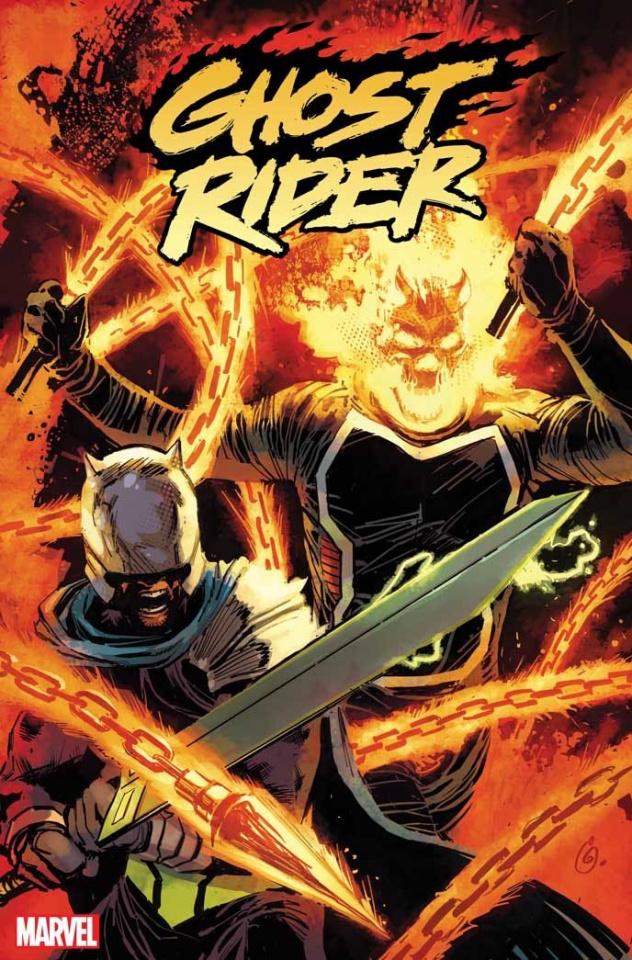Ghost Rider #5 (Garney Cover)
