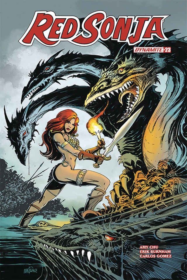 Red Sonja #23 (Mandrake Cover)