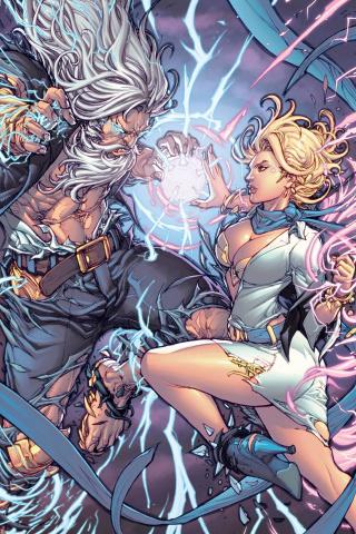 Grimm Fairy Tales: Godstorm - Hercules Payne #5 (Pantalena Cover)