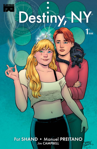 Destiny, NY #1 (Moore 1 in 15 Cover)