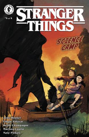 Stranger Things: Science Camp #4 (Piriz Cover)