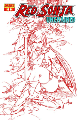 Red Sonja: Unchained #1 (Red Cover)