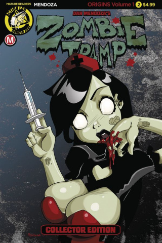 Zombie Tramp: Origins #3 (Mendoza Cover)