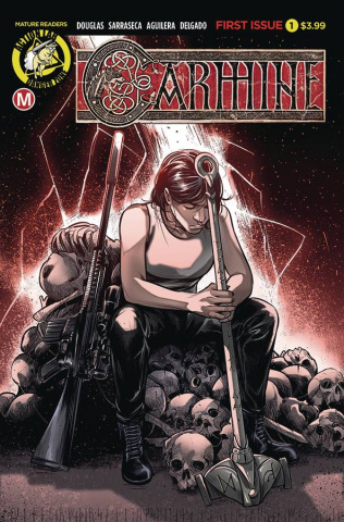 Carmine #1 (Sarraseca Cover)