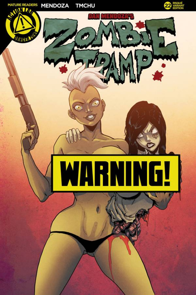 Zombie Tramp #22 (TMChu Risque Cover)