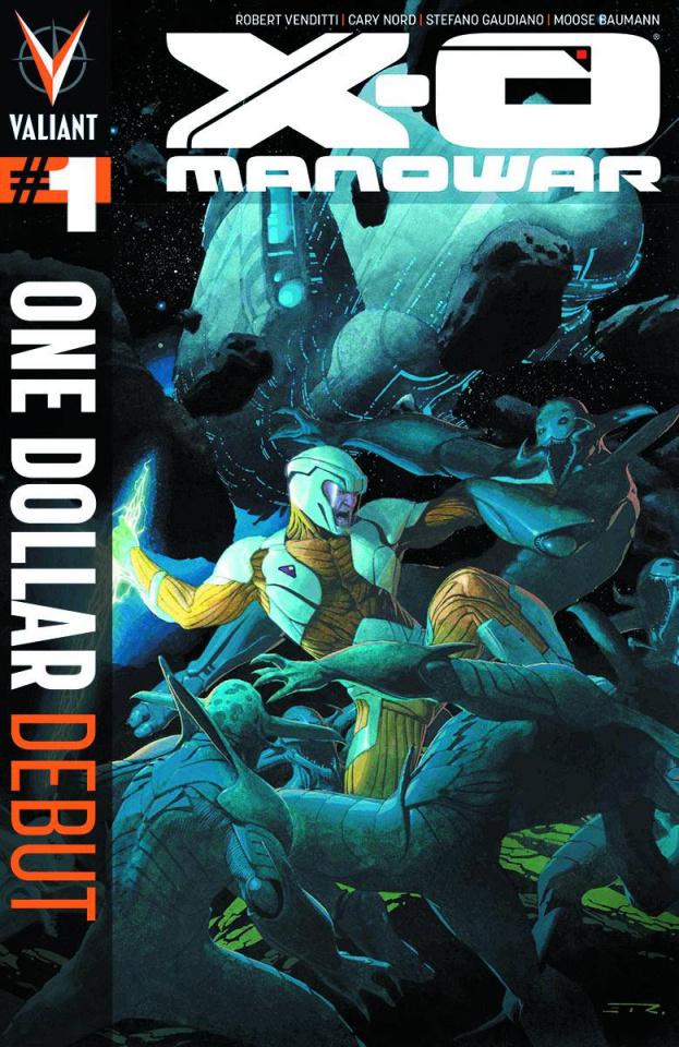X-O Manowar #1 (One Dollar Debut)
