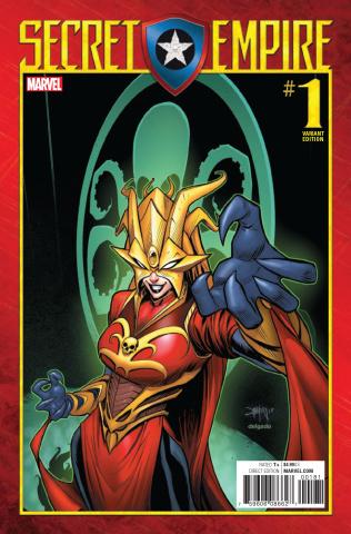 Secret Empire #1 (Mora Villain Cover)
