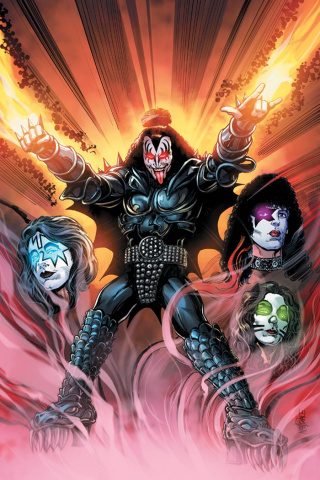 KISS: The Demon #1 (Mandrake Virgin Cover)