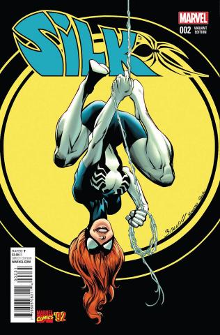 Silk #2 (Bagley Marvel '92 Cover)
