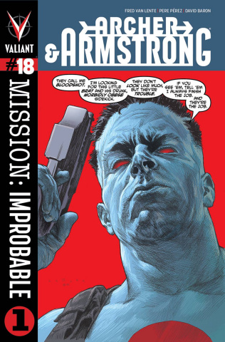 Archer & Armstrong #18 (Larosa Cover)