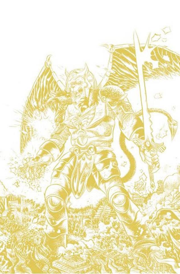 Mighty Morphin' Power Rangers #2 (100 Copy Rubin Foil Cover)