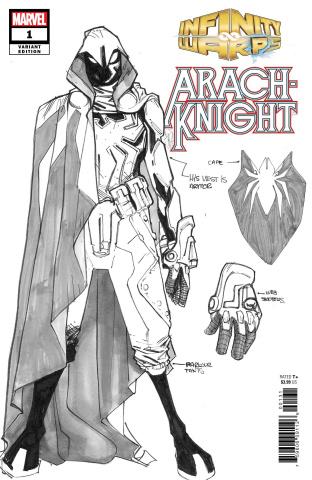 Infinity Wars: Arachknight #1 (Ramos Design Cover)