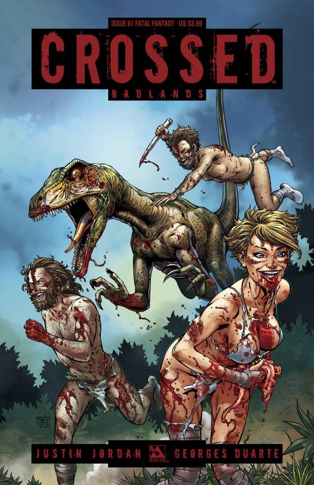 Crossed: Badlands #61 (Fatal Fantasy Cover)