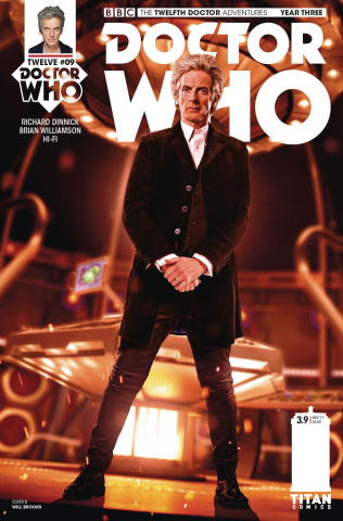 Doctor Who: New Adventures with the Twelfth Doctor, Year Three #9 (Photo Cover)