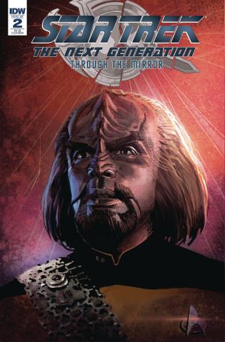 Star Trek: The Next Generation - Through the Mirror #2 (20 Copy Cover)