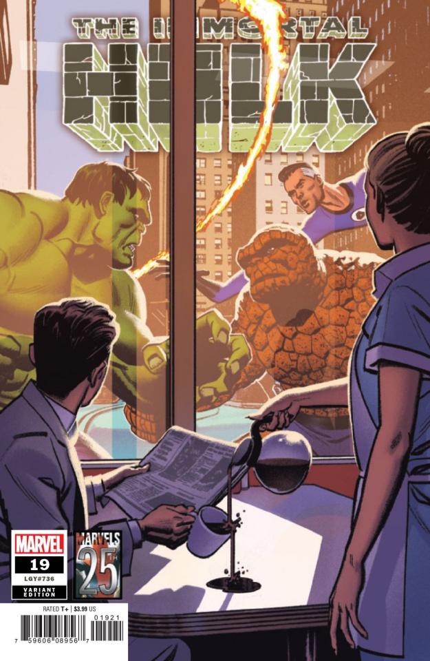 The Immortal Hulk #19 (Smallwood Marvels 25th Anniversary Tribute)