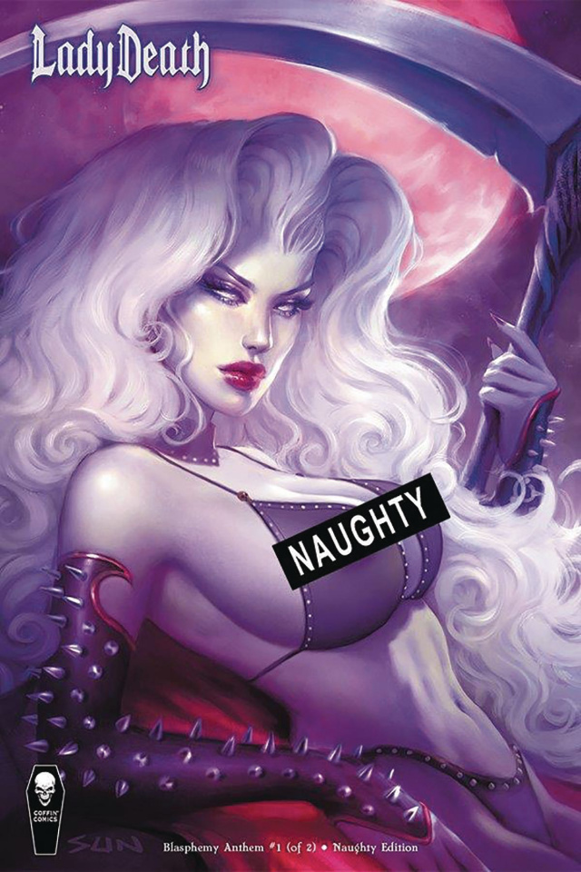 Lady Death: Blasphemy Anthem #1 (Naughty Cover)