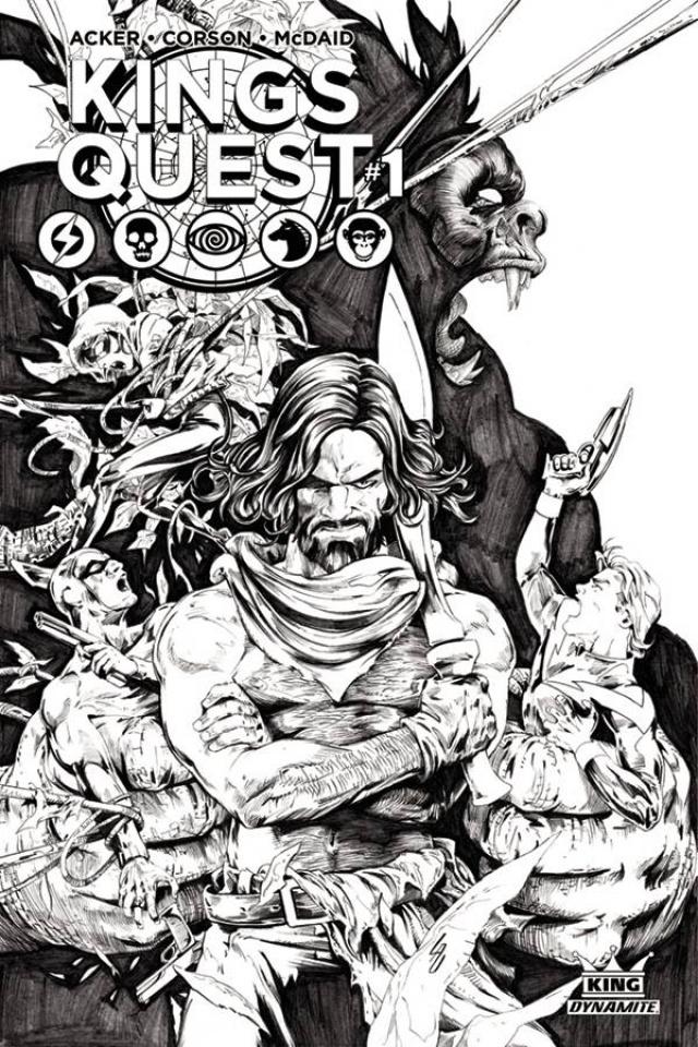 Kings Quest #1 (20 Copy Lau Cover)