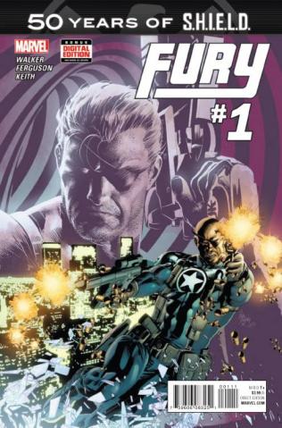 Fury #1 (S.H.I.EL.D. 50th Anniversary)