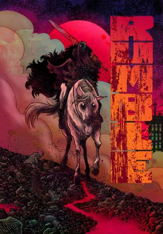 Rumble #2 (Rubin Cover)