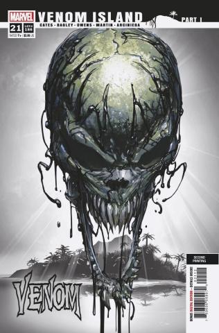 Venom #21 (Crain 2nd Printing)