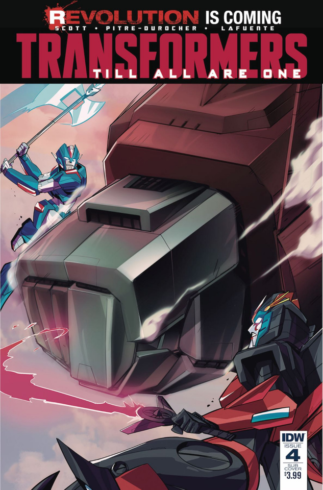 The Transformers: Till All Are One #4 (Subscription Cover)