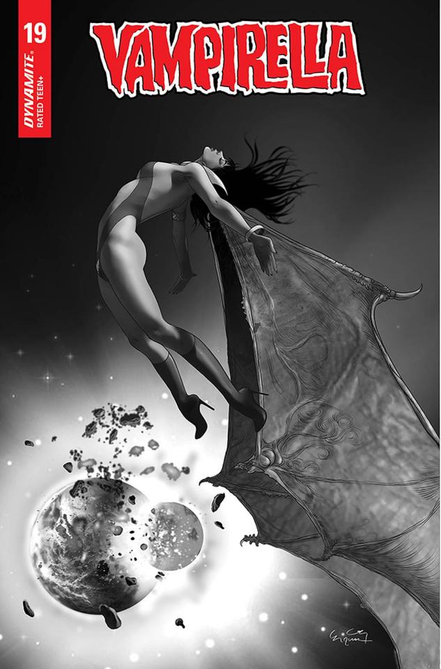 Vampirella #19 (20 Copy Gunduz B&W Cover)
