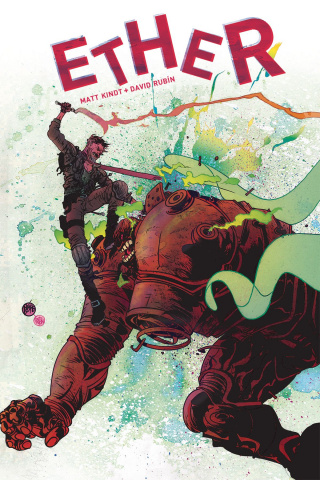 Ether: The Copper Golems #1 (Pope Cover)
