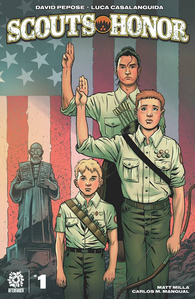 Scout's Honor #1 (15 Copy Brent Schoonover Cover)