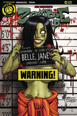 Zombie Tramp #26 (McKay Risque Cover)