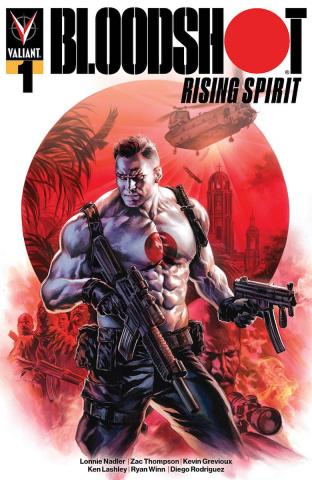 Bloodshot: Rising Spirit #1 (2nd Printing)