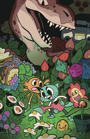 The Amazing World of Gumball #7 (15 Copy Salume Cover)