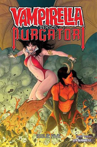 Vampirella vs. Purgatori #5 (Musabekov Cover)