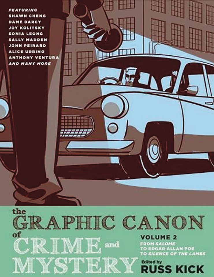 The Graphic Canon of Crime and Mystery Vol. 2