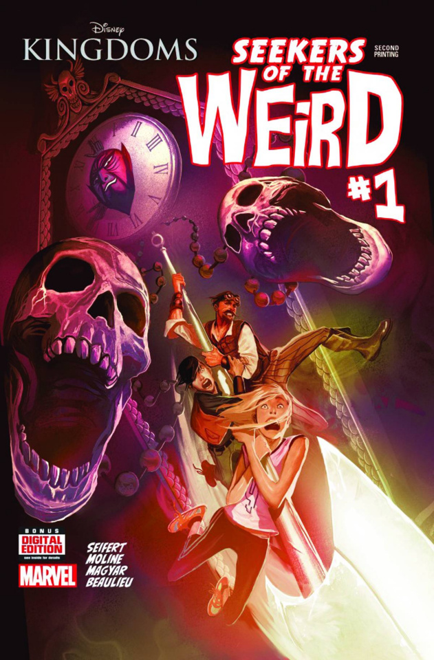 Disney Kingdoms: Seekers of the Weird #1 (2nd Printing)