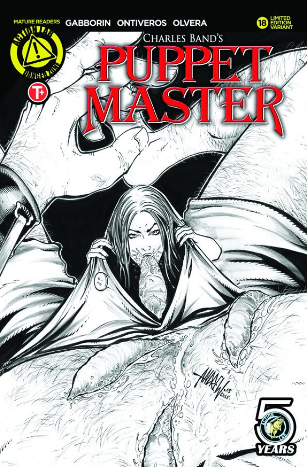 Puppet Master #18 (Mangum Kill Sketch Cover)