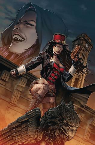 Van Helsing vs. Dracula's Daughter #3 (Spay Cover)