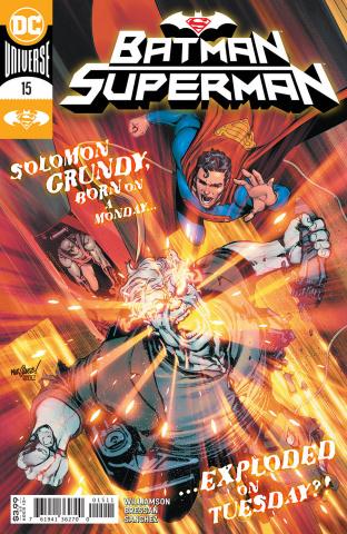 Batman / Superman #15 (David Marquez Cover)