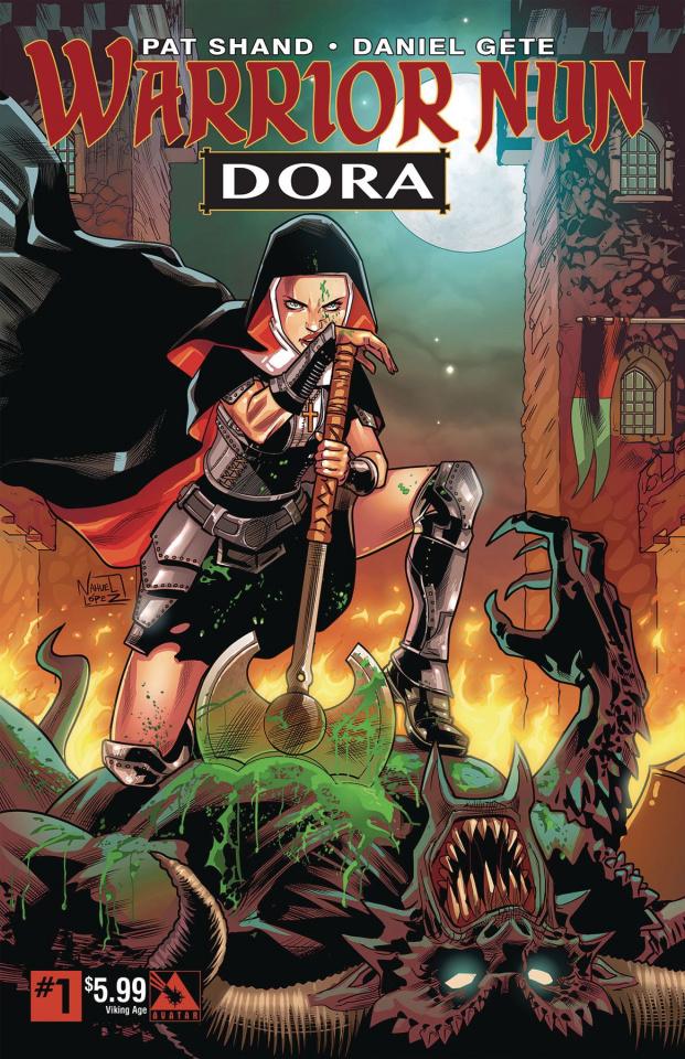 Warrior Nun: Dora #1 (Viking Age Cover)