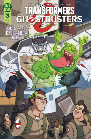The Transformers / Ghostbusters #3 (10 Copy Murphy Cover)