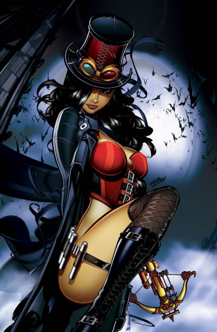 Grimm Fairy Tales: Van Helsing Cover Gallery #1 (Green Cover)