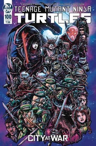 Teenage Mutant Ninja Turtles #100 (Eastman Cover)