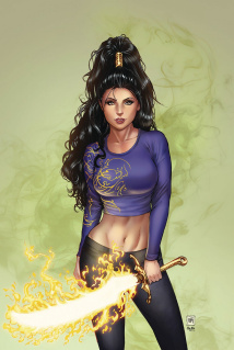 Grimm Fairy Tales #9 (Krome Cover)