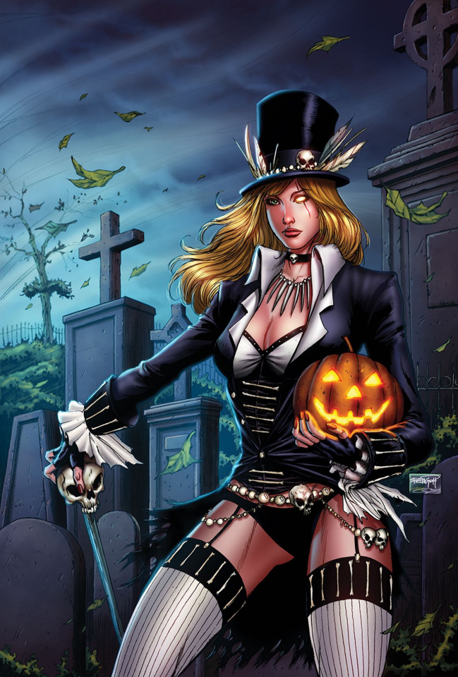 Grimm Fairy Tales 2017 Halloween (Goh Cover)