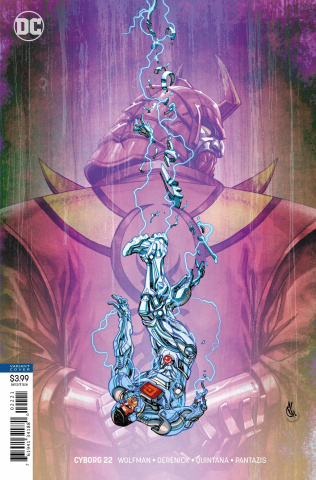 Cyborg #22 (Variant Cover)