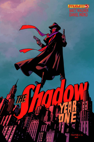 The Shadow: Year One #5 (Samnee Cover)