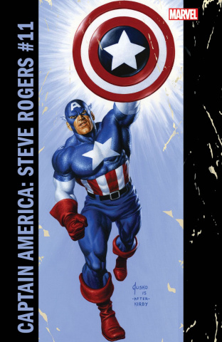 Captain America: Steve Rogers #11 (Jusko Corner Box Cover)